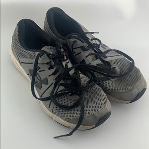 Under Armour Gray Dash 2 Sneakers